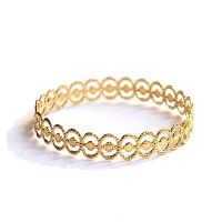 "<font SIZE=""+1"">Bracelet Ellipse Or</font>"